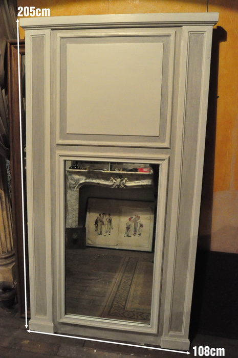 Miroir ancien achat vente daniel morel for Miroir cheminee